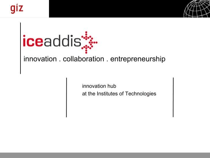 IceAddis Web Gathering Presentation