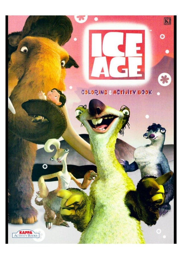 Ice Age Coloring Amp Activity Book