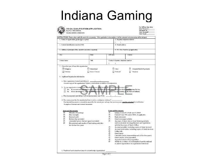 Indiana Gaming