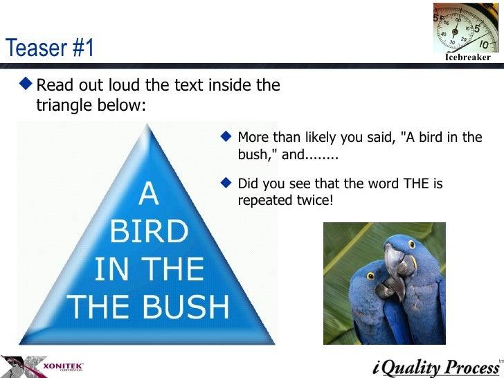 Ice breaker   brain teasers Slide 2
