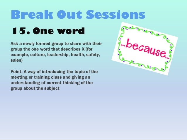 Funny one line ice breakers