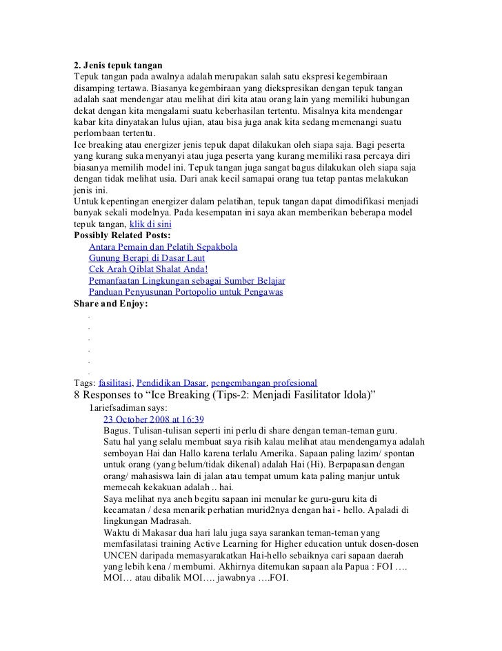 Icebreakingdlmpembelajaran 100302210222-phpapp02