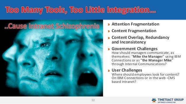 12 Attention Fragmentation Content Fragmentation Content Overlap, Redundancy and Inconsistency Government Challenges How s...