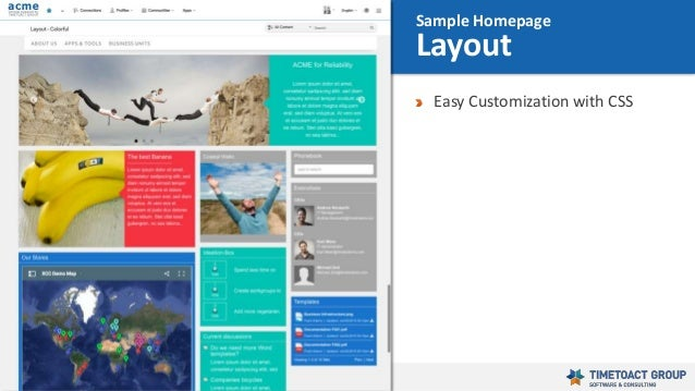 38 Easy Customization with CSS Sample Homepage Layout
