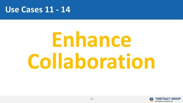 70 Enhance Collaboration Use Cases 11 - 14