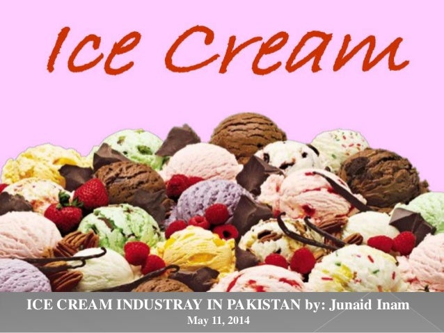 Ice Cream Industry in Pakistan