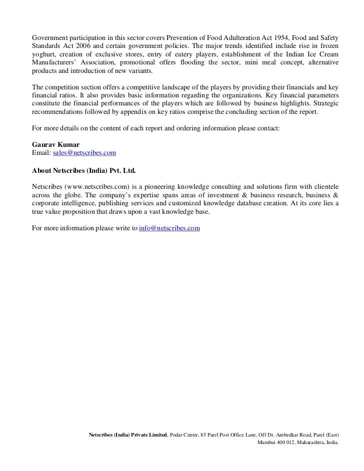 marketing research proposal for ice cream Research proposal on supply chain management at walls ice cream uk: how walls ice cream uk can improve its retail logistics mix and supply chain management to ensure higher organizational.
