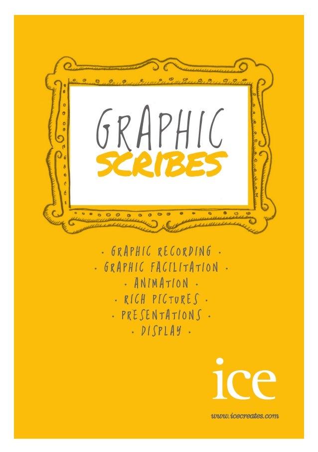 GRAPHIC scribes www.icecreates.com • G R A P H I C R E C O R D I N G • • G R A P H I C F A C I L I T A T I O N • • A N I M...