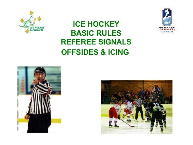 Ice Hockey Rules Simplified