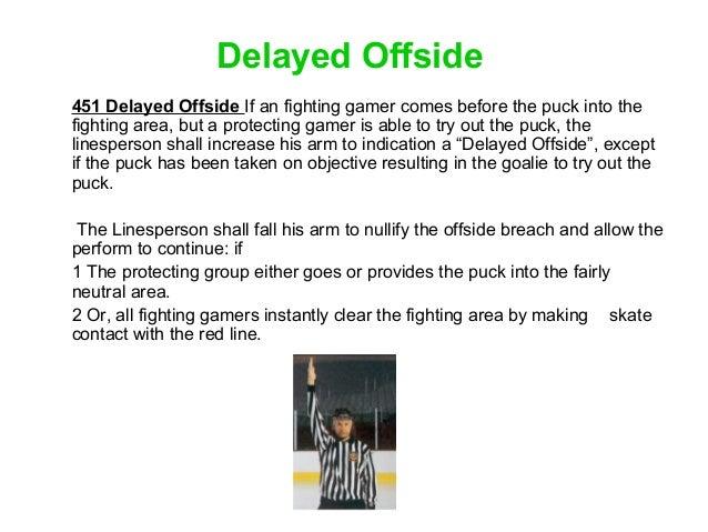 Ice Hockey Rules Simplified