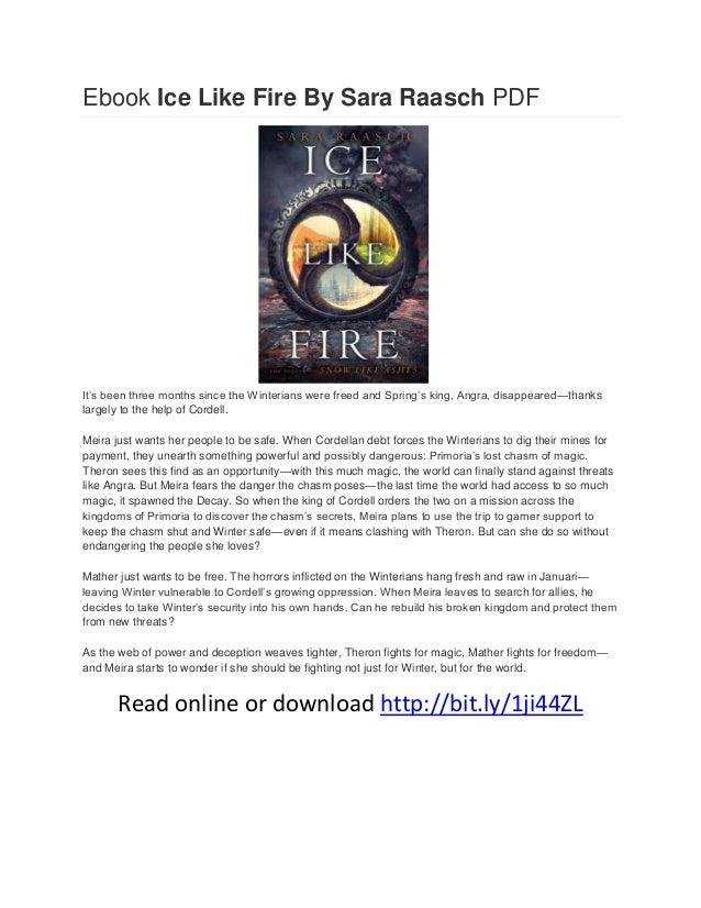 Ice like fire pdf free download