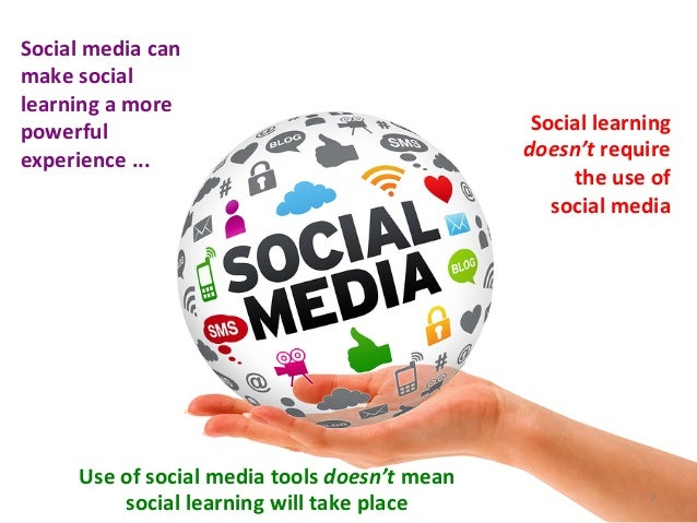 Social	  media	  can	  make	  social	  learning	  a	  more	  powerful	  experience	  ...	  Social	  learning	  doesn't	  r...