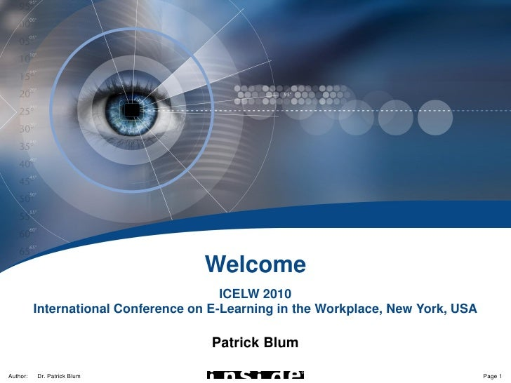 Embedded Knowledge Resources                                         Welcome                                         ICELW...
