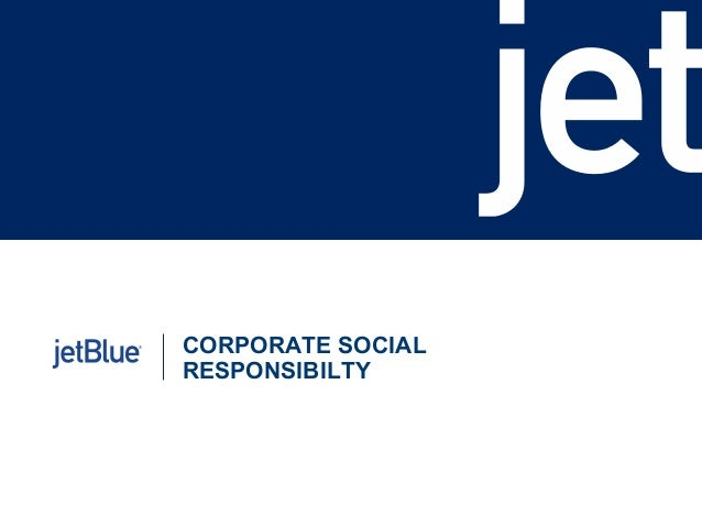 CORPORATE SOCIAL RESPONSIBILTY