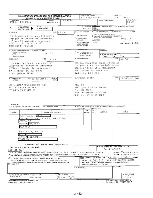 SOLICITATION/CONTRACT/ORDER FOR COMMERCIAL ITEMS OFFEROR TO COMPLETE BLOCKS 12, 17, a 24, & 30 I. REQUISITION !:UMBER 1921...