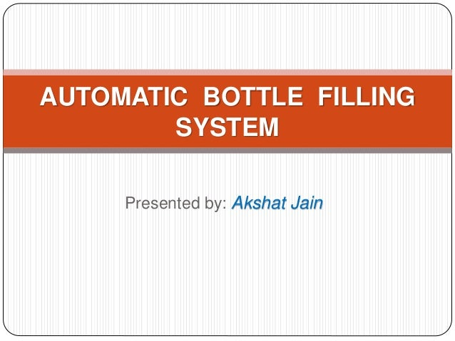 Automatic Bottling System