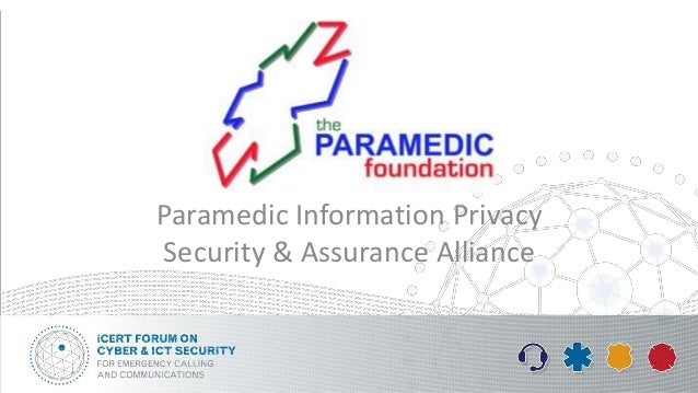 Paramedic Information Privacy Security & Assurance Alliance