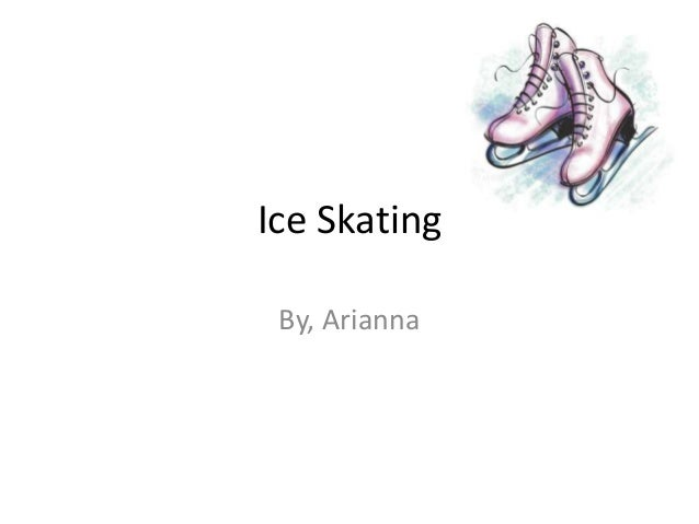 Ice Skating By, Arianna