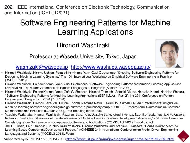 2021 IEEE International Conference on Electronic Technology, Communication and Information (ICETCI 2021) Software Engineer...