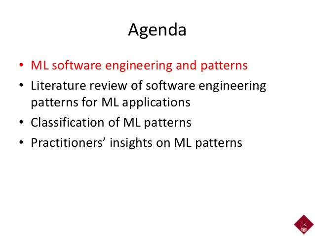 Software Engineering Patterns for Machine Learning Applications Slide 3