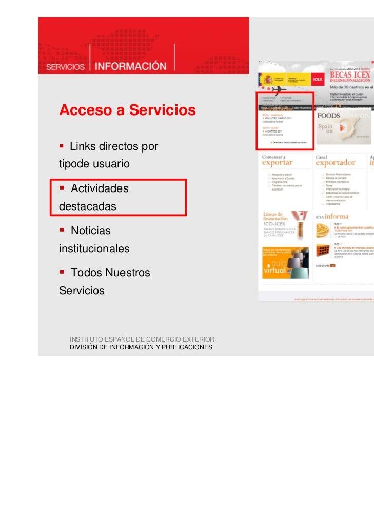 Acceso a Servicios  Links directos portipode usuario  Actividadesdestacadas  Noticiasinstitucionales  Todos NuestrosServic...