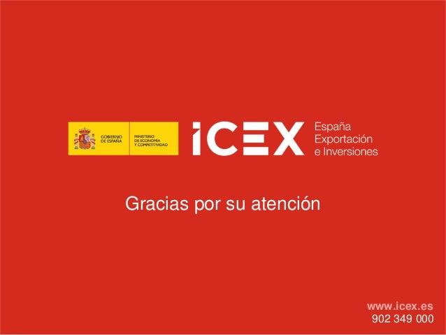 Gracias por su atención902 349 000www.icex.es
