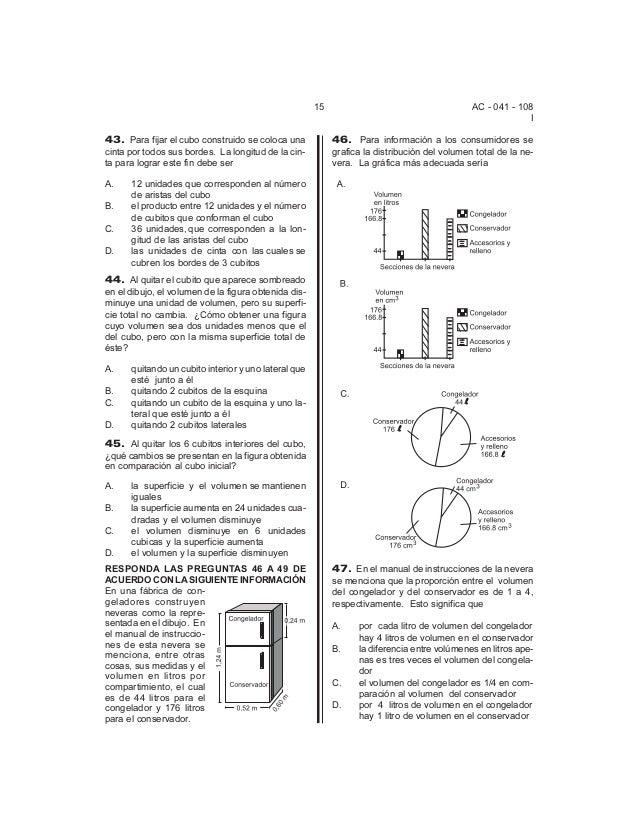 Icfes2003 pruebamatematicas Slide 3