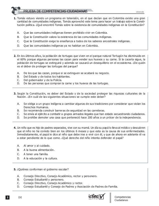 2 DE guia_Competencias Ciudadanas Tomás estuvo viendo un programa en televisión, en el que decían que en Colombia existe u...