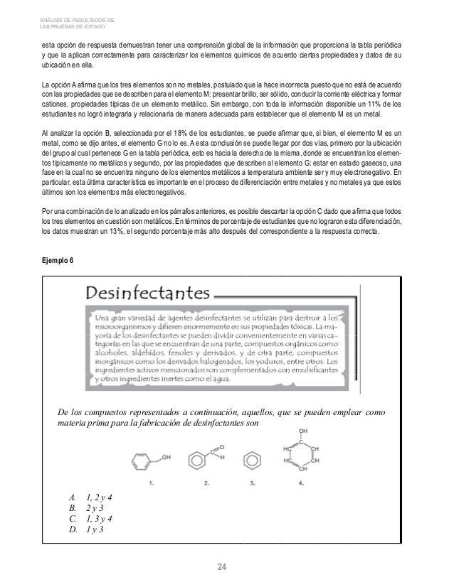 Icfes quimica 2006 los estudiantes concentrados en 24 urtaz Image collections