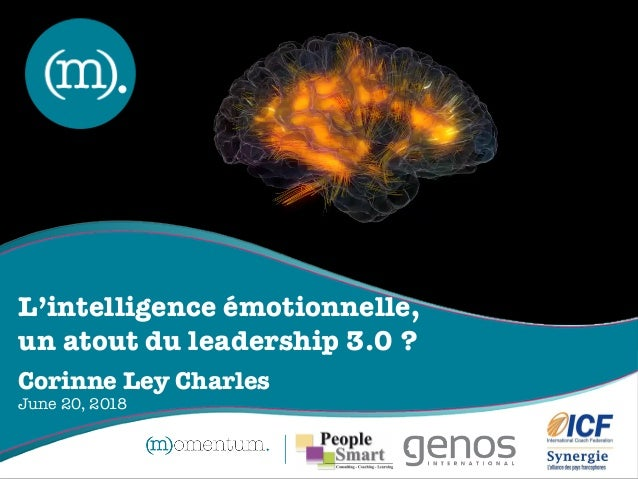 "ICF Synergie : ""L'intelligence Emotionnelle, un atout du Leadership 3.0"" de Corinne Ley Charles - SLIDEs Slide 2"