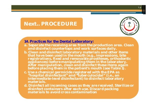 infection control in dental care essay Patients and dental health-care workers (dhcws) have the potential of  transmitting infections to each other (1) a common set of infection-control  strategies.