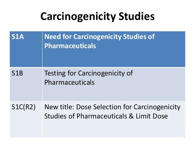 Carcinogenicity Assessment of Biologics