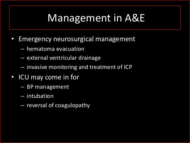 clinical guidelines for stroke managment 2010