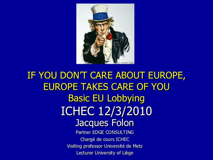 Basic EU lobbying