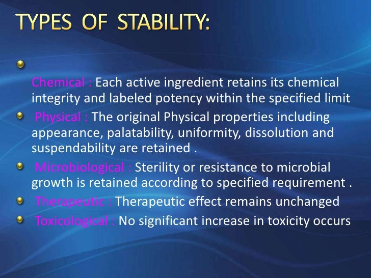 Accelerated stability studes - SlideShare