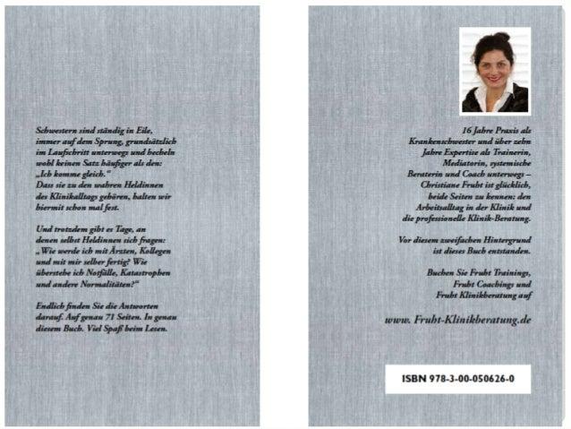 ICH KOMME GLEICH: Der Ratgeber für die patente Krankenschwester Slide 2
