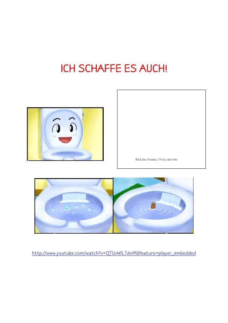 ICH SCHAFFE ES AUCH!                                              Bild des Kindes / Foto del niño     http://www.youtube.c...