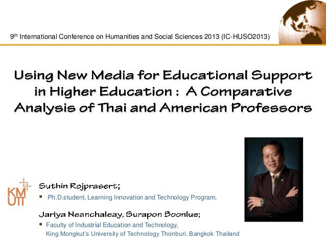 9th International Conference on Humanities and Social Sciences 2013 (IC-HUSO2013)    Ph.D.student, Learning Innovation an...