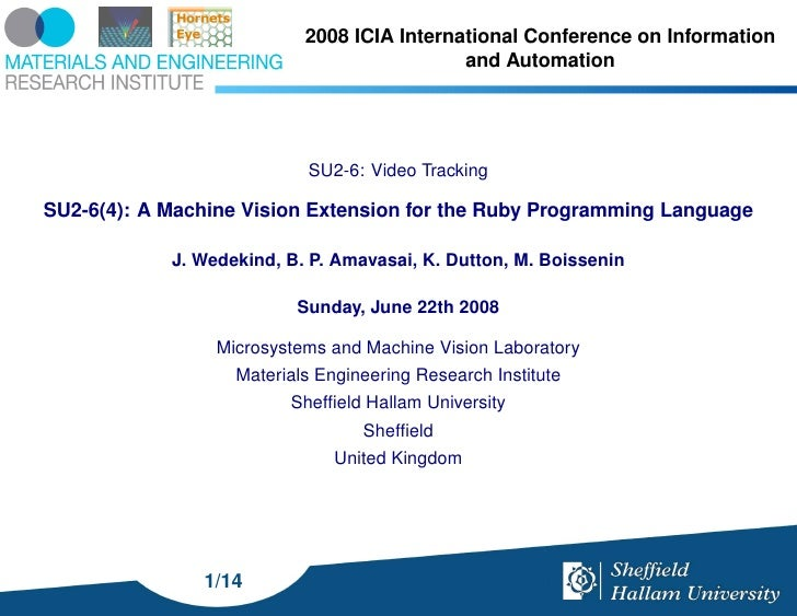 2008 ICIA International Conference on Information                                             and Automation              ...