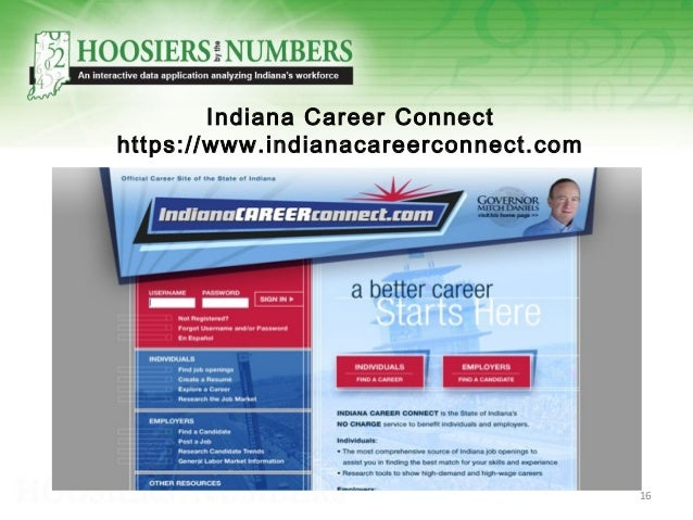 Indiana Career Connect https://www.indianacareerconnect.com 16