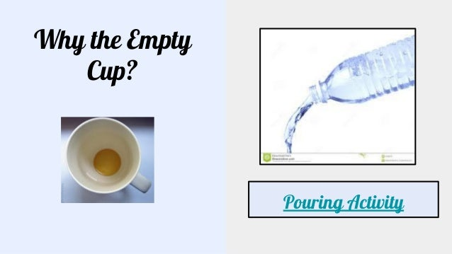 ICIC 2018 Presentation: You Can't Pour From an Empty Cup Slide 2
