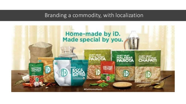 Branding a commodity, with localization 2005 Started by PC Mustafa with 50 sq. ft. kitchen in Bangalore 2006 First sales d...