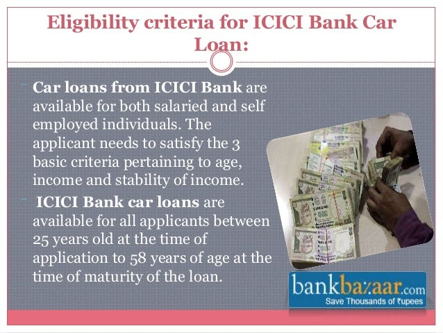 Car Loan Documents Icici