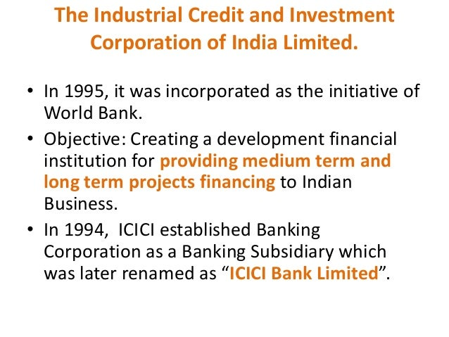 tell me five main objectives of icici bank Of selected private sector banks during the last five years ie since 2004-05 to 2009-2010 from study it was found that in year 2010, icici bank has maximum.