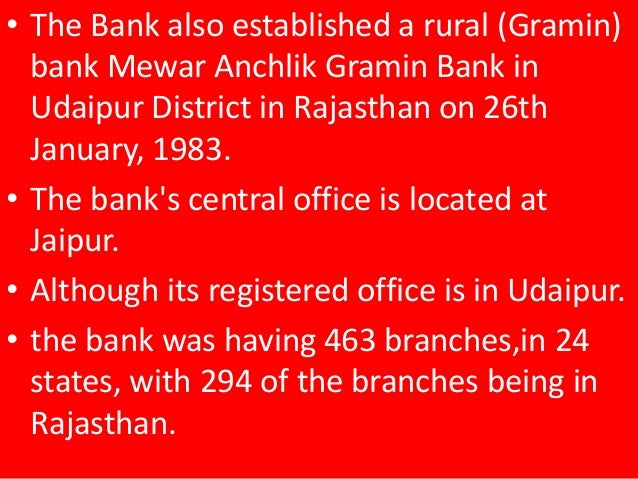 bank of india total branches in rajasthan