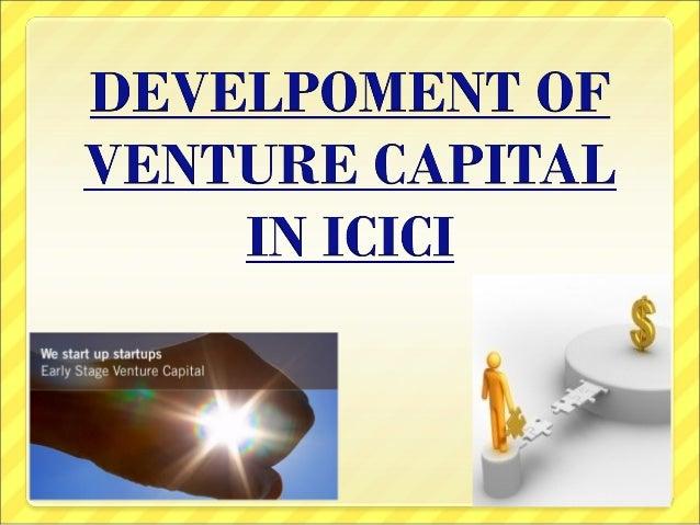 Icici Bank Venture Capital Ppt