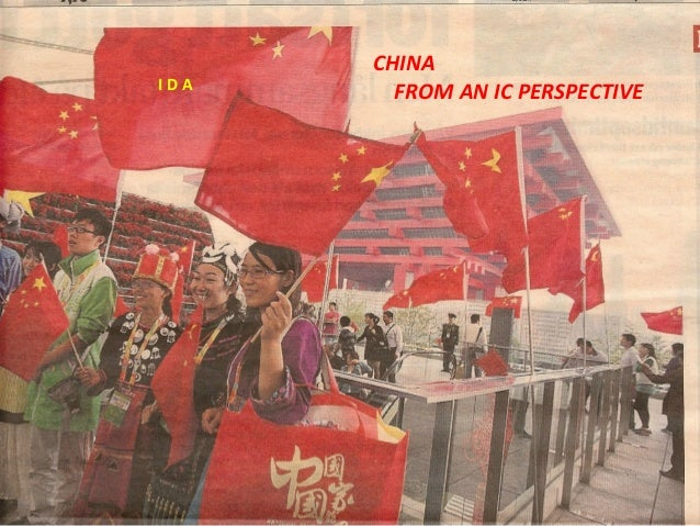 CHINA FROM AN IC PERSPECTIVEI D A