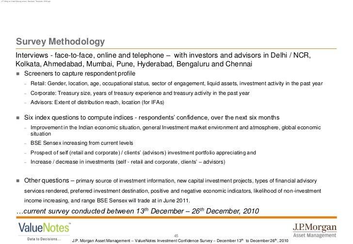 JPMorgan Asset Management - ValueNotes Investment Confidence