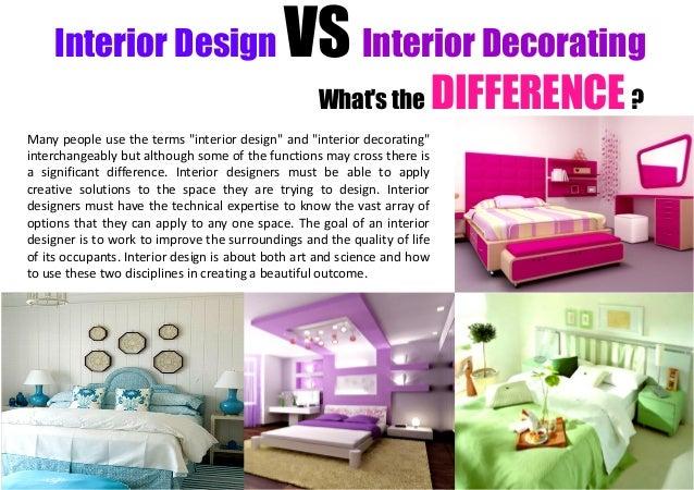 Interior Design Vs Interior Decorator Iron Blog