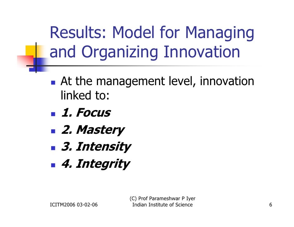 10 Practices from the Most Innovative Organizations